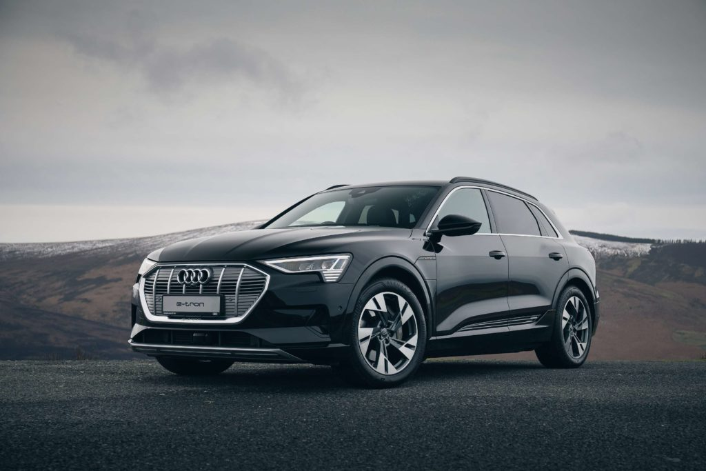 The new Audi e-tron 71 kWh, now available in Ireland