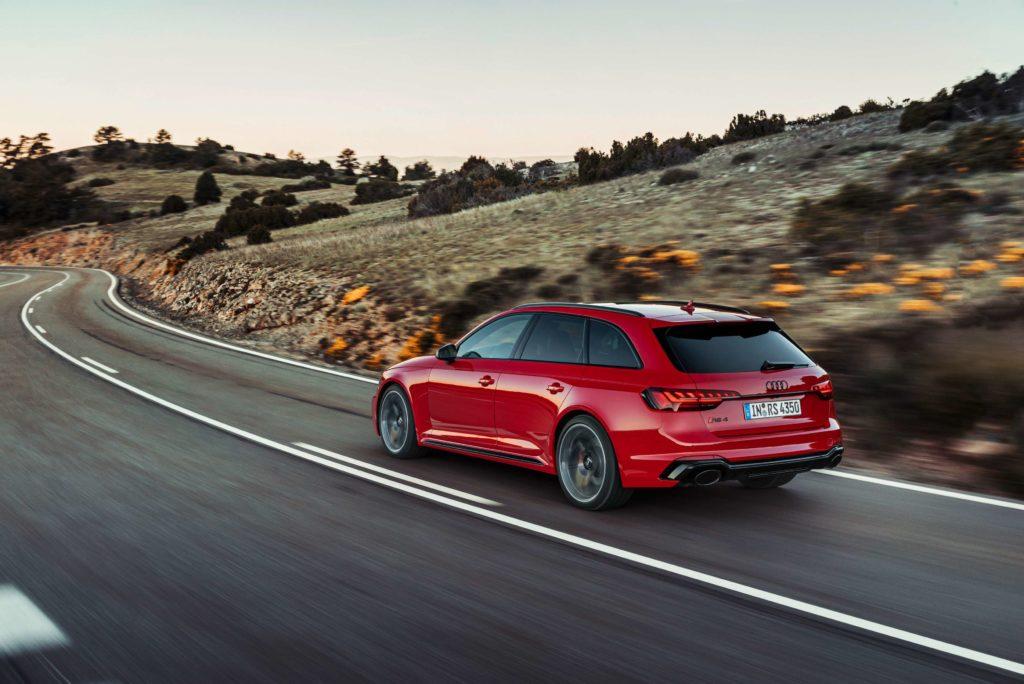 The Audi RS 4 Avant gets a place in Juliet's dream car garage!