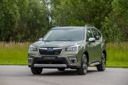 The new Subaru Forester e-BOXER