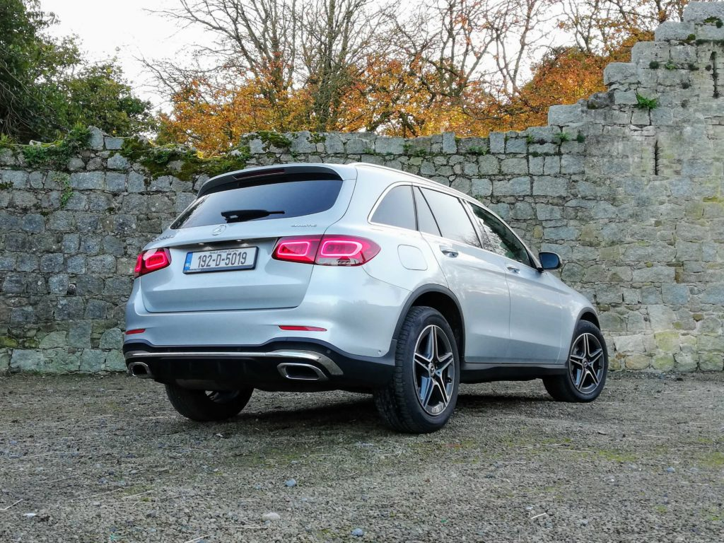 The GLC 220d is a fine diesel mid-size SUV!