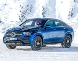 The new Mercedes-Benz GLE Coupe, on the way to Ireland in 2020