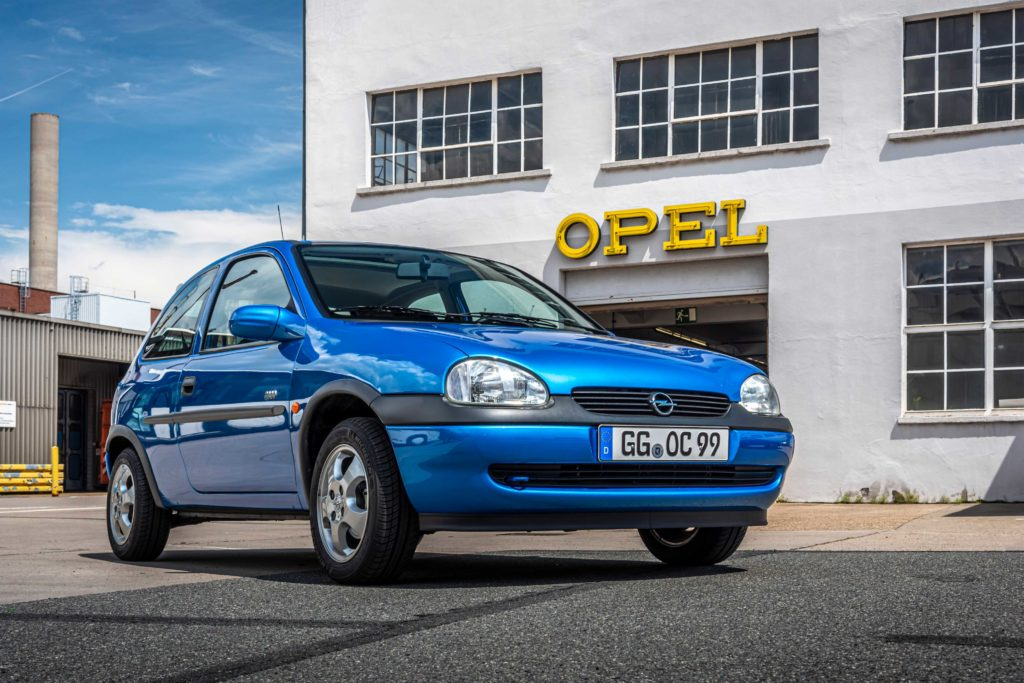 The Opel Corsa B of the 1990s was the most successful Corsa to date