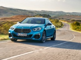 The new BMW 2 Series Gran Coupé, one of the cars heading to Ireland in 2020