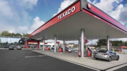 The new Texaco Parkway Service Station in Limerick