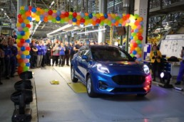The new Ford Puma is expected in Ireland in January, here's when it rolled off the production line!
