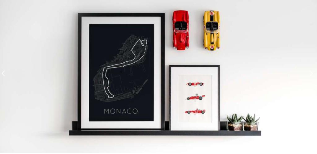 Rear View Prints stocks a range of interesting car prints and apparel