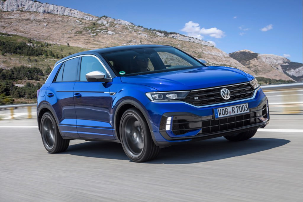 The new Volkswagen T-Roc R!