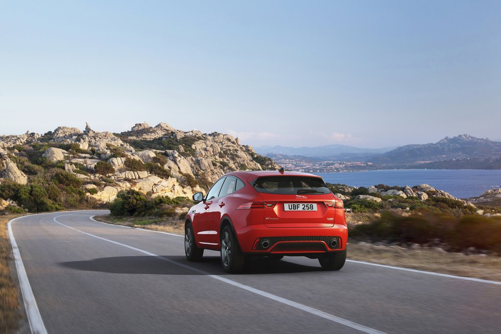 E-PACE Chequered Flag from €37,870