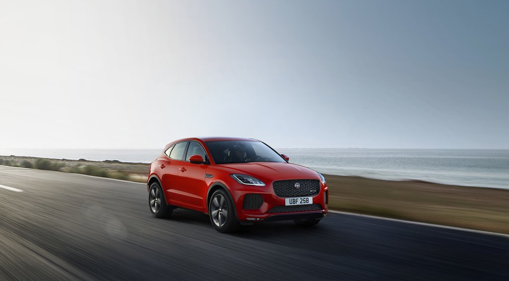The new Jaguar E-PACE Chequered Flag