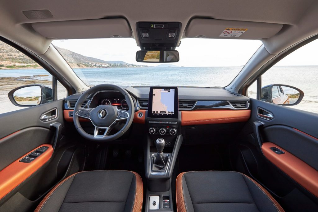 The interior of the new Captur