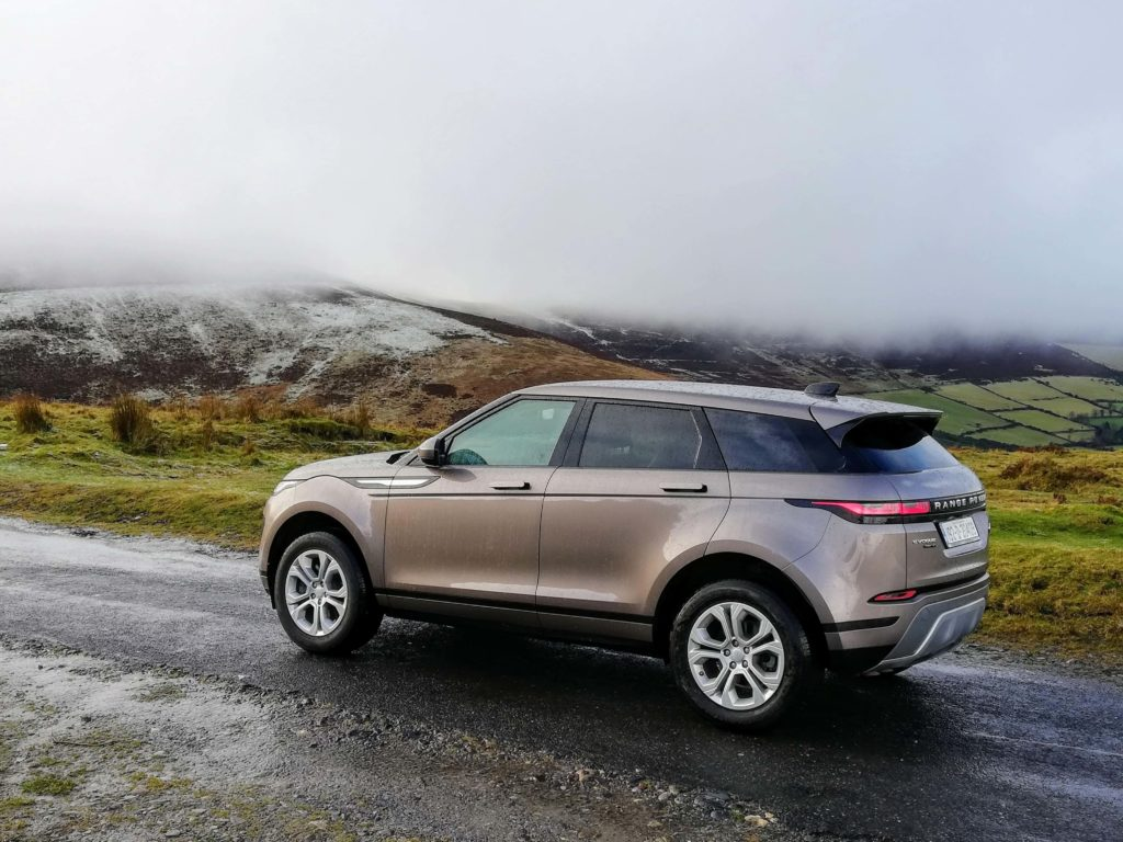 The Range Rover Evoque is available from €49,285 in Ireland