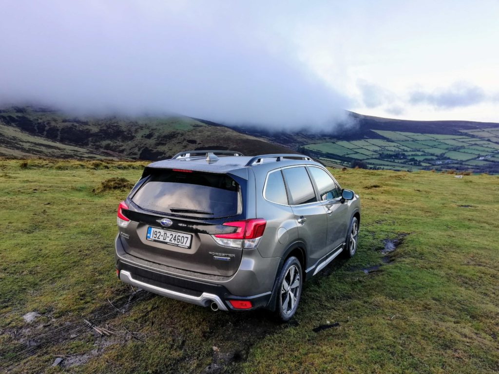 The new Forester is very accomplished off-road