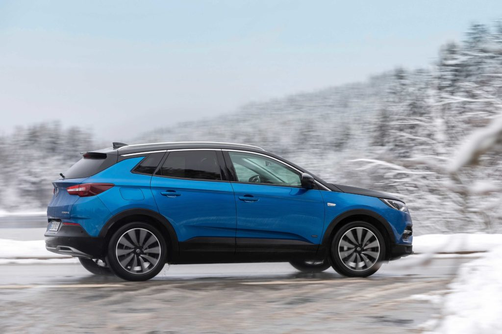 The Grandland X Hybrid4 is available from €47,415