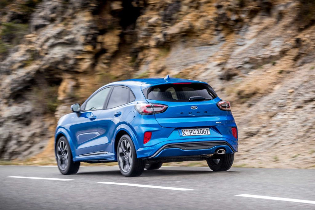 The new Puma is sporty and fun to drive