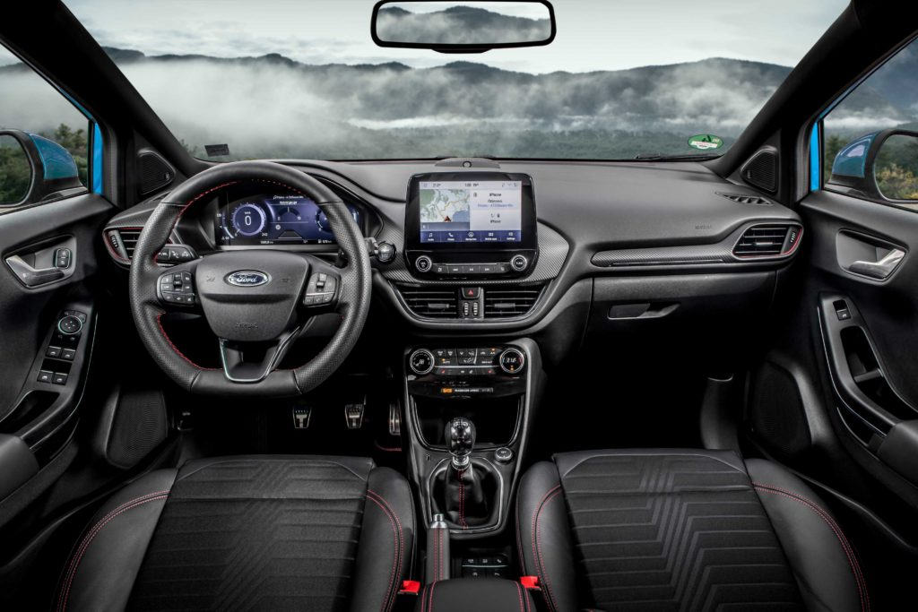 The interior of the new Ford Puma
