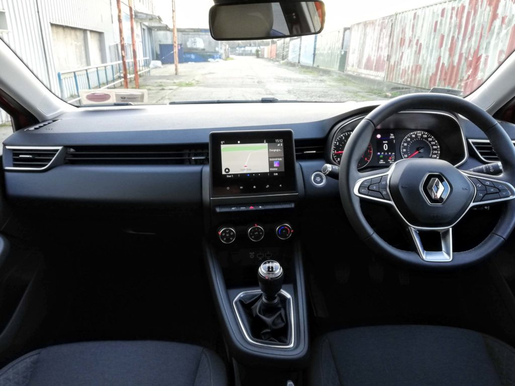 Inside the new Renault Clio
