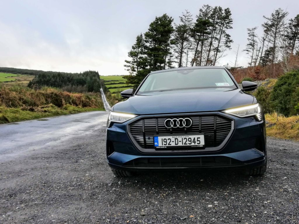The new e-tron 55 quattro available from €89,810 including grant reductions