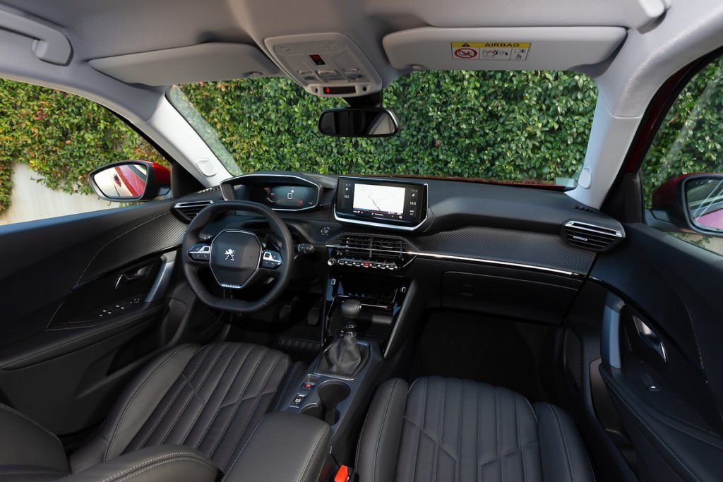 The interior of the new 2008