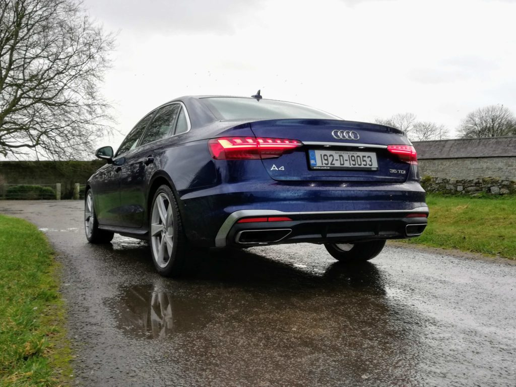 The new A4 range starts from €40,570 in Ireland