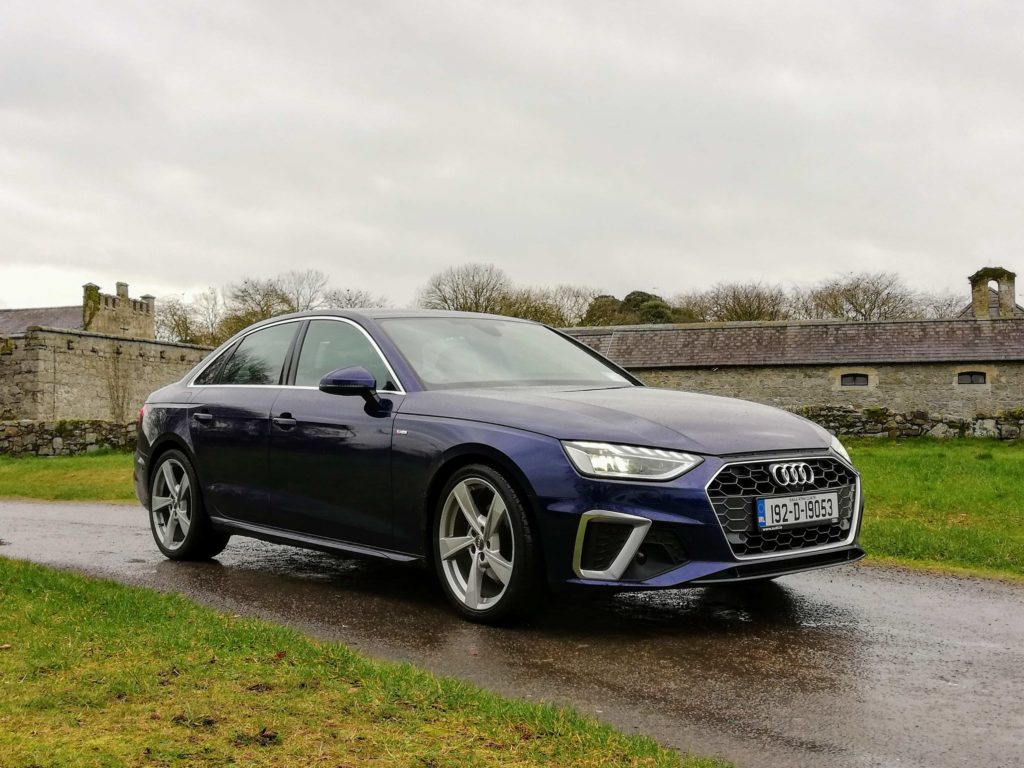S line models adopt a sportier look for the new A4