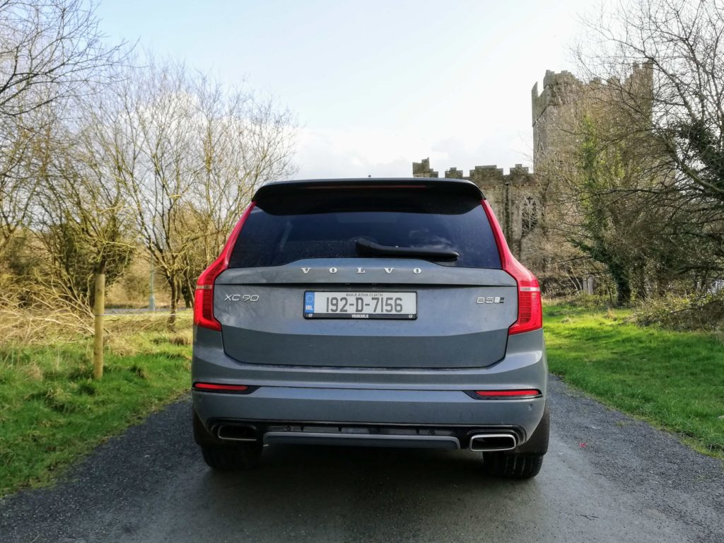 The new XC90 is available as a mild hybrid diesel or a petrol electric plug-in hybrid