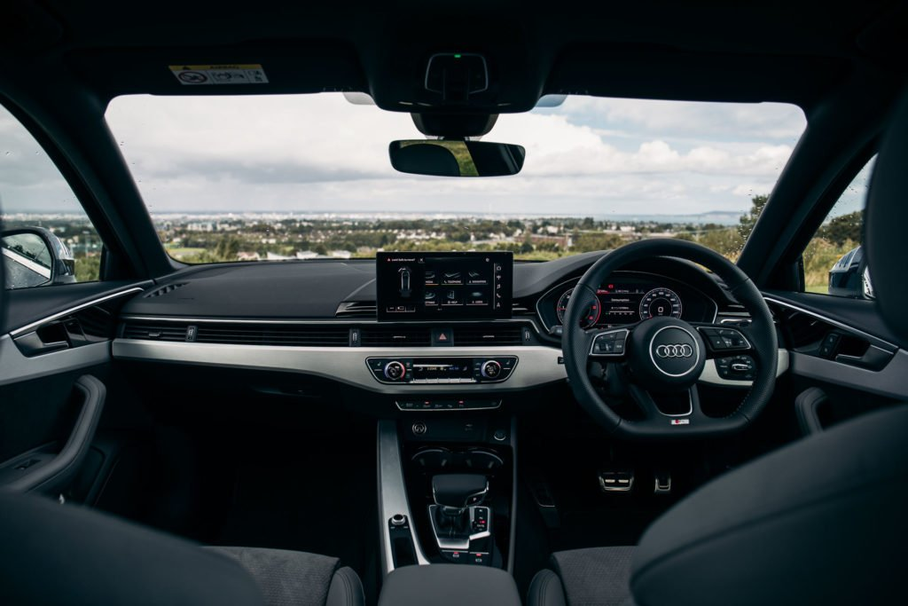 The interior of the new Audi A4