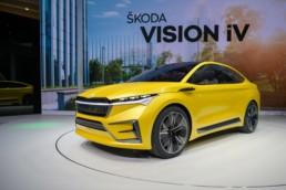 The ŠKODA Vision iV concept that previews the new ENYAQ