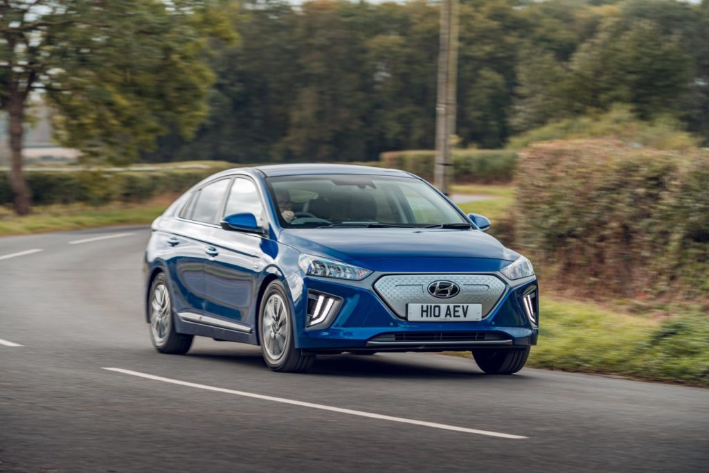 The updated IONIQ Electric now has more power and more range