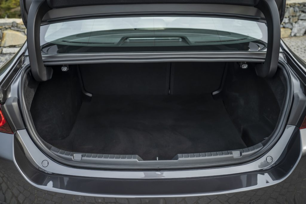 Saloon cars can have smaller boot openings but more space like the Mazda3 Saloon
