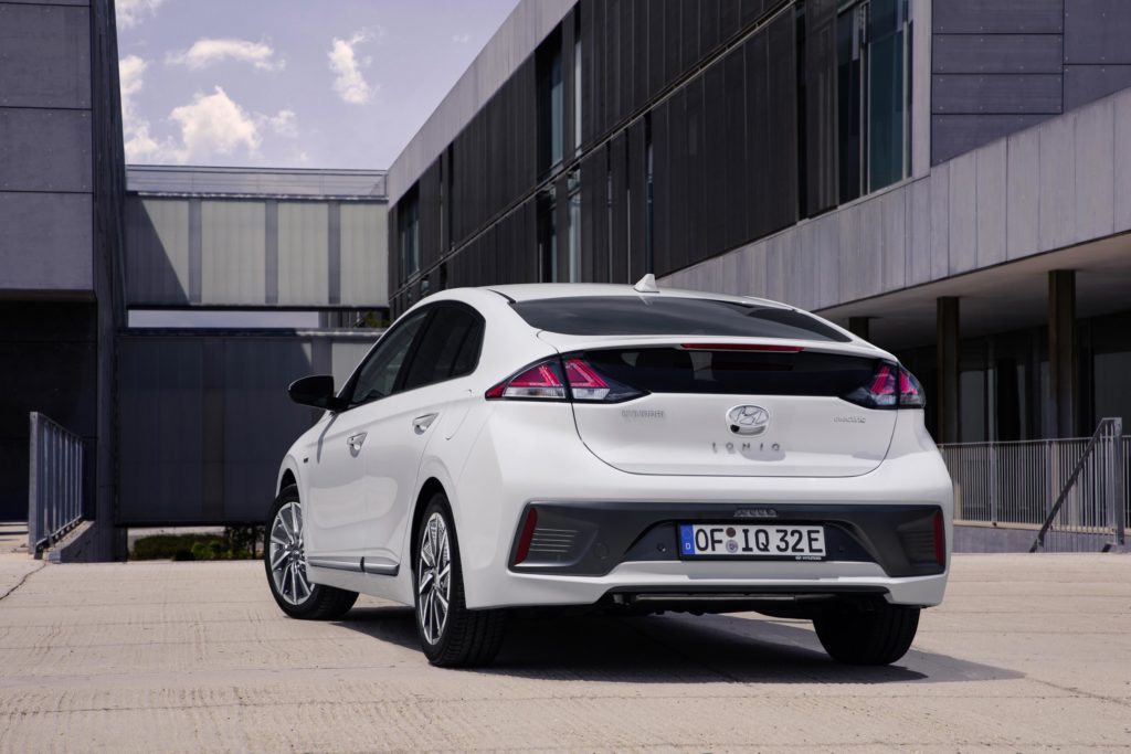 The new Hyundai IONIQ Electric is available from €35,470 in Ireland