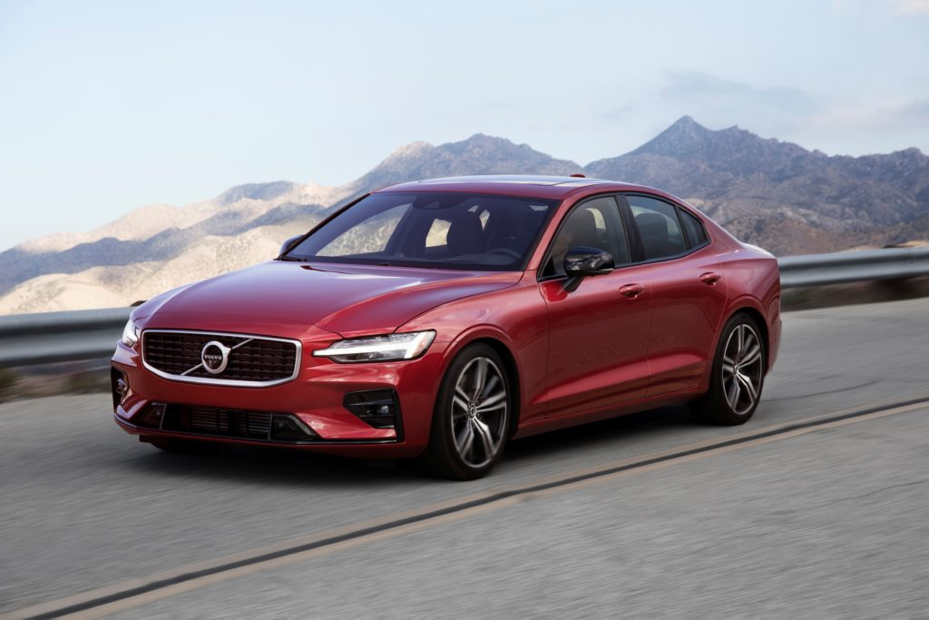 The Volvo S60 is available as a petrol or petrol-electric hybrid