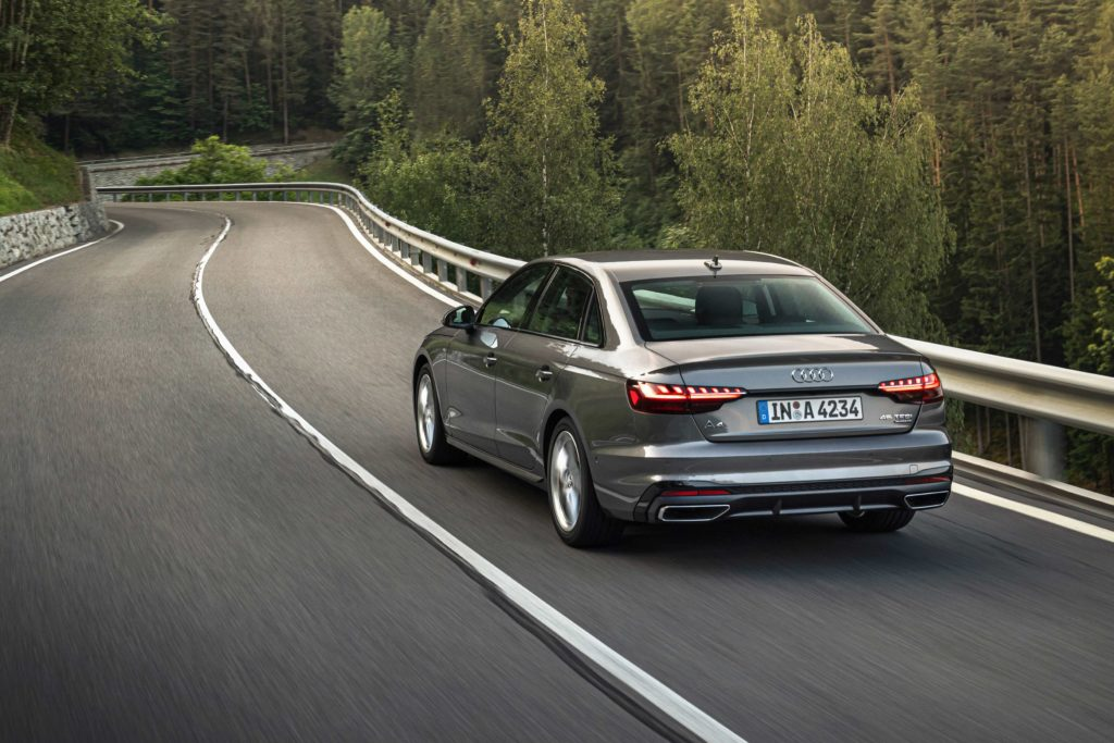 The Audi A4 shines for its refinement and elegance