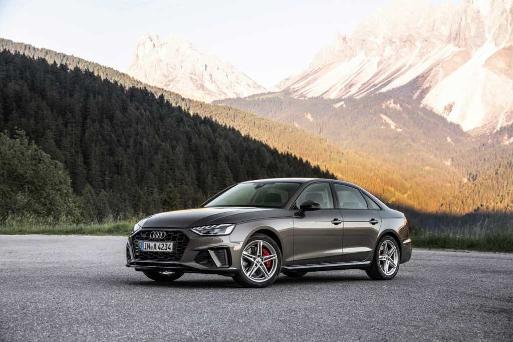 The 2020 Audi A4 S line