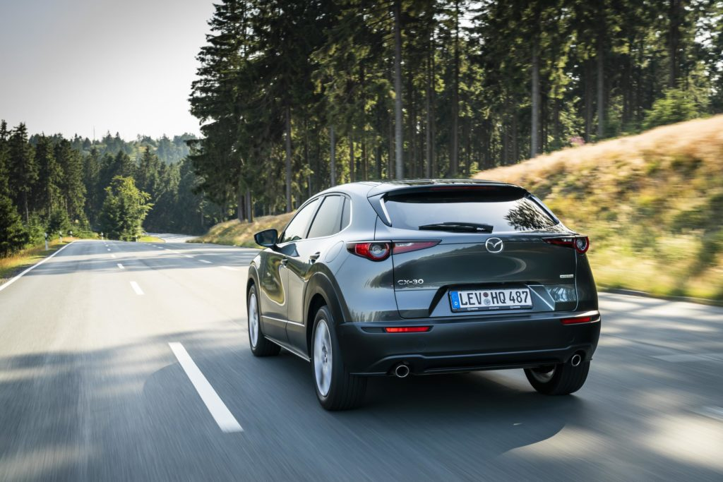 The CX30 is a new generation Mazda SUV