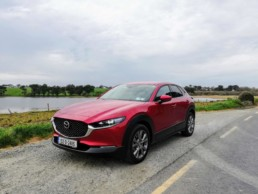 The 2020 Mazda CX30 on review for Changing Lanes!