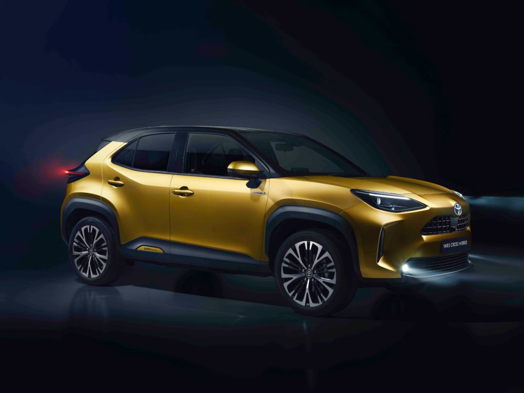 Toyota's new compact SUV, the Yaris Cross, is expected in 2021
