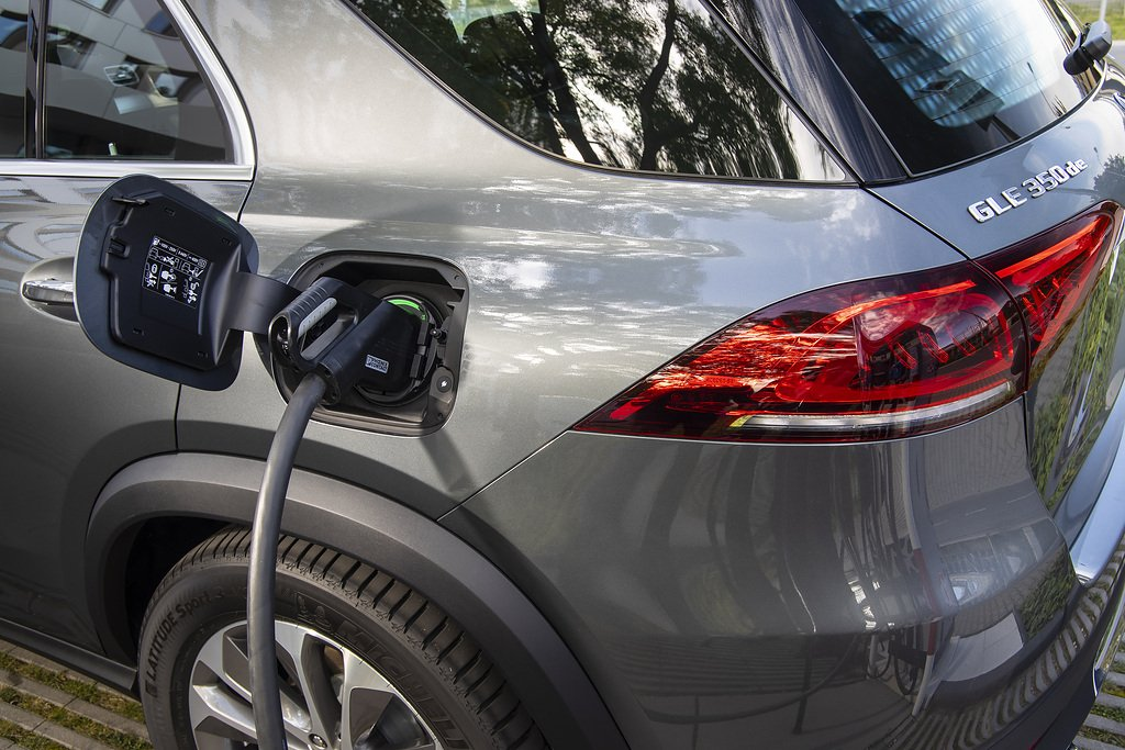 Plug in hybrid power for the Mercedes-Benz GLE