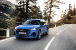 The Audi Q3 TFSI e, now on sale in Ireland