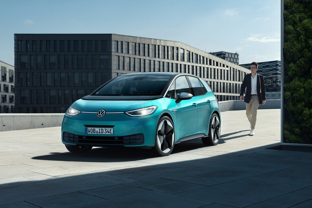 The new Volkswagen ID.3 will arrive in Ireland this summer