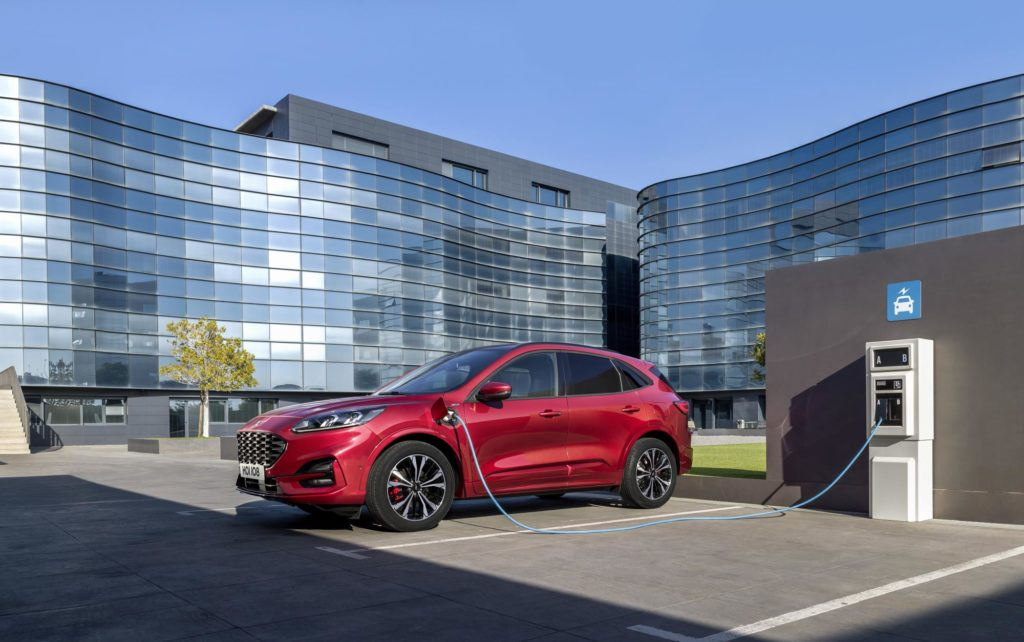 The new Ford Kuga, available as a plug-in hybrid for the first time