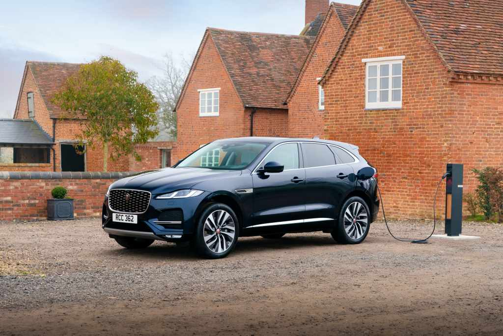The new Jaguar F-PACE plug in hybrid