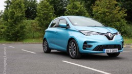 The new Renault ZOE Z.E. 50 on test for Changing Lanes
