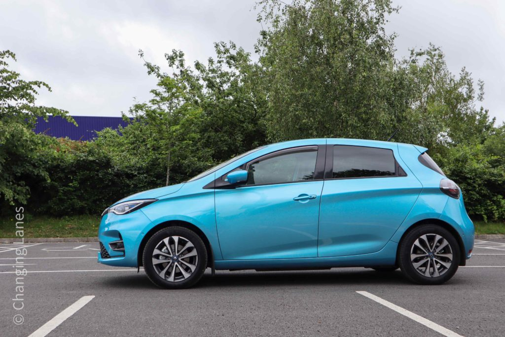 The 2020 Renault ZOE has a number of new features