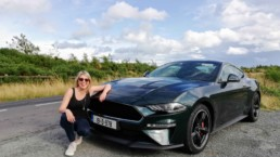 Caroline and the Ford Mustang Bullitt!