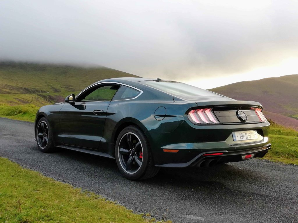The Mustang Bullitt is available from €75,155 in Ireland