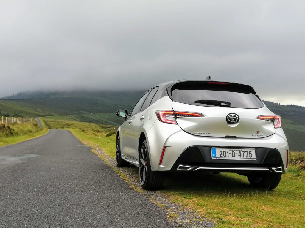 The Toyota Corolla GR Sport explores Corolla's sporty new character