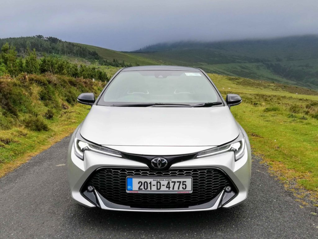 The GR Sport gives a sporty makeover to the Corolla, Ireland's bestselling car