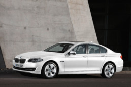 Breda drives a 6th generation BMW 5 Series like this one