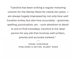 Praise for Copywriting by Changing Lanes
