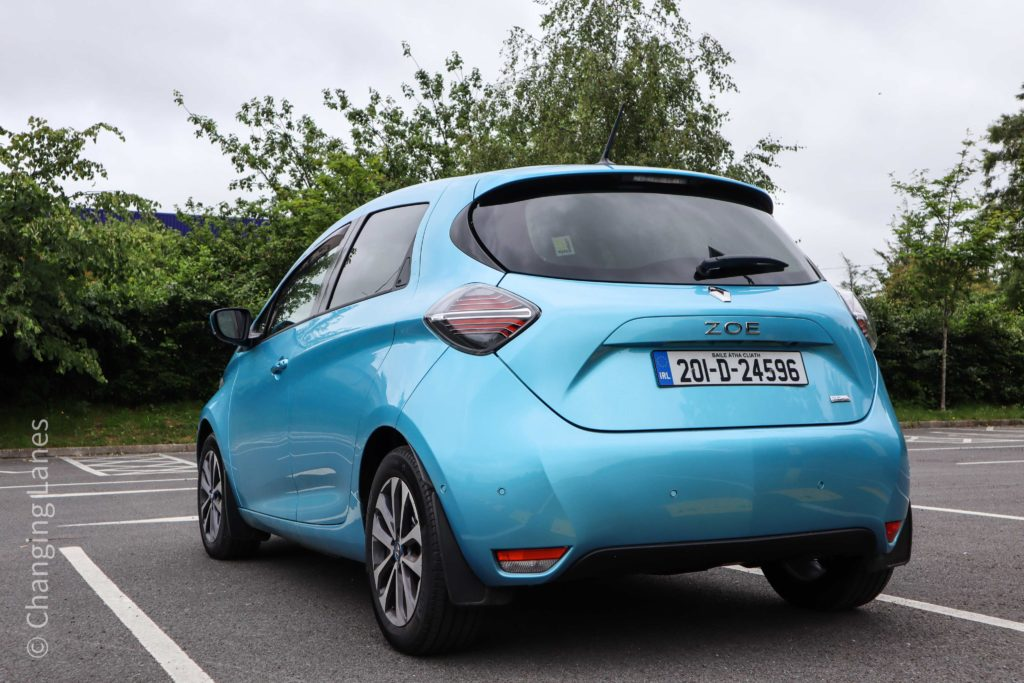 The new ZOE is available from €26,990 in Ireland